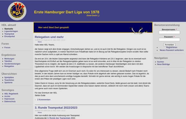 Vorschau von www.hhdartliga.de, HH-Dartliga