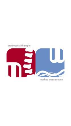 Vorschau der mobilen Webseite www.cranio.biz, Markus Wassermann