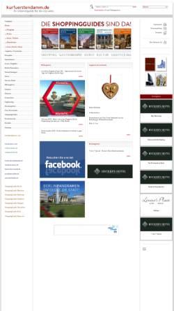 Vorschau der mobilen Webseite www.kurfuerstendamm.de, Kurfuerstendamm.de
