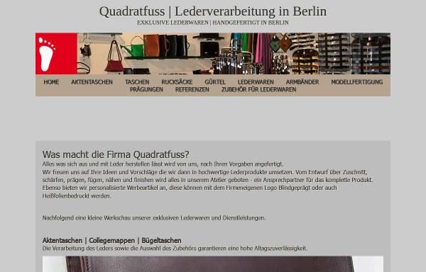 Vorschau von www.quadratfuss.de, Quadratfuss