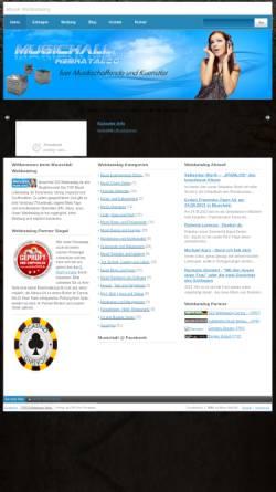 Vorschau der mobilen Webseite www.musichall100.de, Musichall100