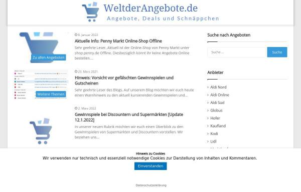 Vorschau von weltderangebote.de, Welt der Technik