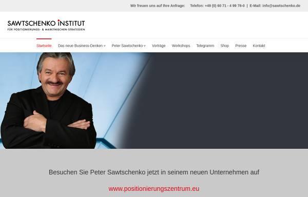 Vorschau von www.sawtschenko.de, Dipl.-Ing. (FH) Peter Sawtschenko