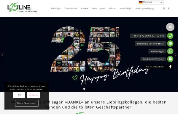 Vorschau von www.logiline.de, Logiline GmbH
