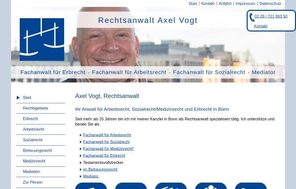 Vorschau von www.axel-vogt.de, Axel Vogt
