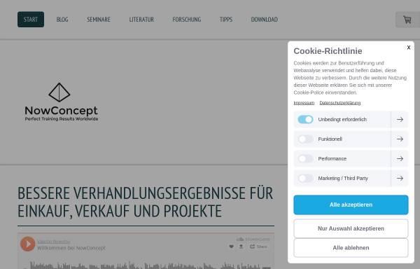Vorschau von www.besserverhandeln.de, Besser Verhandeln - Valentin Nowotny und Silke Anbuhl