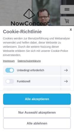 Vorschau der mobilen Webseite www.besserverhandeln.de, Besser Verhandeln - Valentin Nowotny und Silke Anbuhl