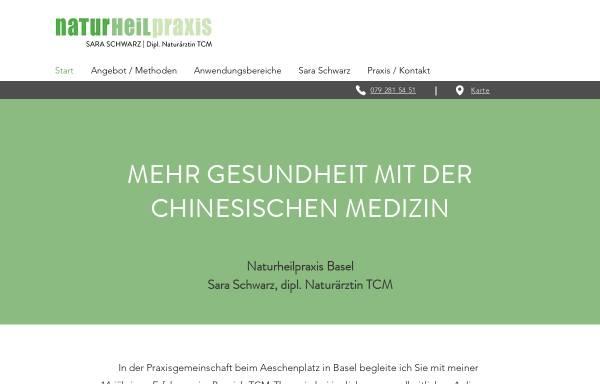 Vorschau von naturheilpraxis-basel.ch, Sara Schwarz