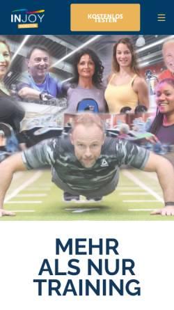 Vorschau der mobilen Webseite www.injoy-dorsten.de, Injoy
