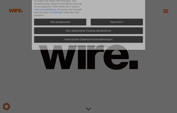 Vorschau von www.wire-advertising.de, Wire Advertising GmbH