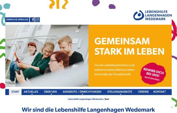 Vorschau von www.gba-langenhagen.de, GBA, Gemeinnützige Gesellschaft für Behindertenarbeit mbH
