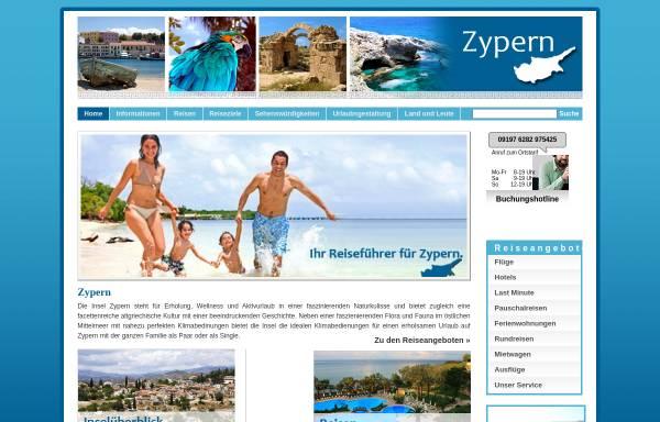 Vorschau von www.zypern.org, Zypern.org