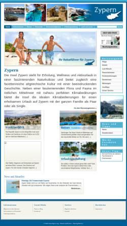 Vorschau der mobilen Webseite www.zypern.org, Zypern.org