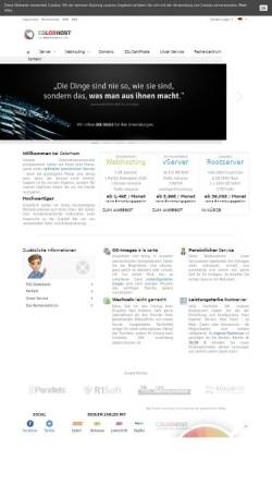 Vorschau der mobilen Webseite colorhost.de, Colorhost, Inh. Berthold Dagge