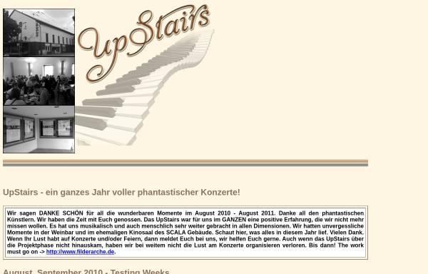 Vorschau von www.upstairs-esslingen.de, UpStairs - Weinbar und Livemusik