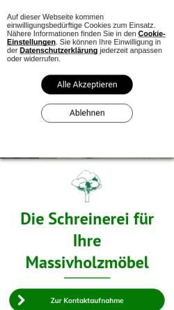 Vorschau der mobilen Webseite www.linachkueche.de, Linach Küche GmbH