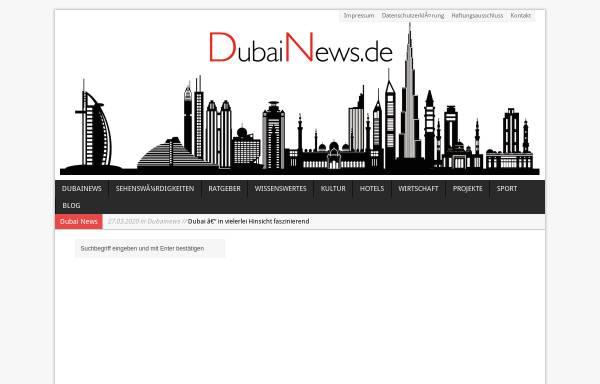 Vorschau von www.dubainews.de, Dubai News