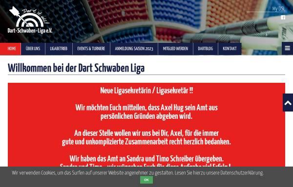 Vorschau von www.dslev.de, Dart Schwaben Liga e.V.
