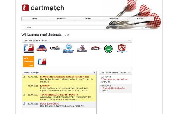 Vorschau von www.dartmatch.de, Dartmatch