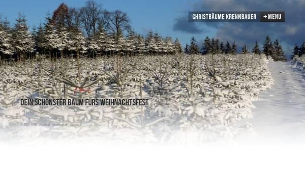 Vorschau von www.christbaeume-krennbauer.at, Familie Krennbauer
