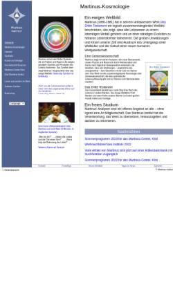 Vorschau der mobilen Webseite www.martinus.dk, Martinus Institut