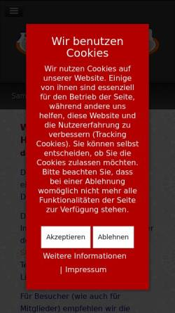 Vorschau der mobilen Webseite www.regiodartliga.de, Regiodartliga Südbaden
