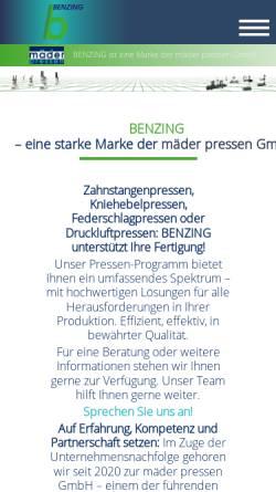 Vorschau der mobilen Webseite www.zad.de, ZAD-Liga