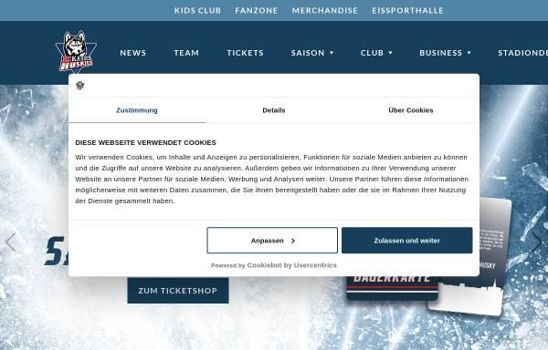 Vorschau von eckasselhuskies.de, Eissporthalle Kassel