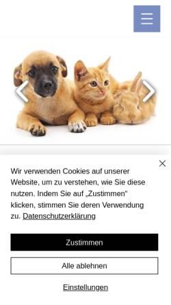 Vorschau der mobilen Webseite www.kleinschroth.info, Tierarztpraxis Dr. Kleinschroth