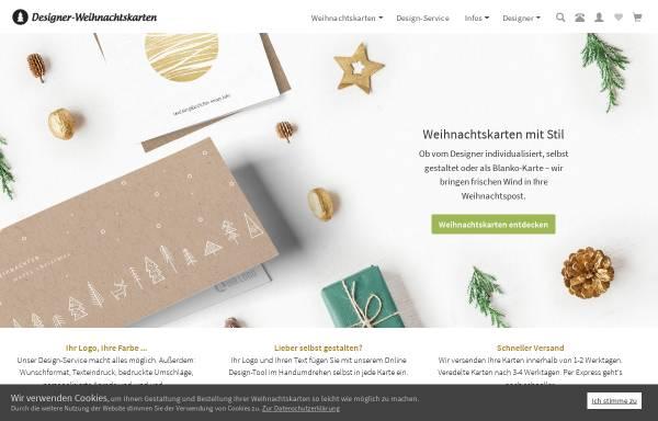 Vorschau von www.designer-weihnachtskarten.de, Designer Weihnachtskarten