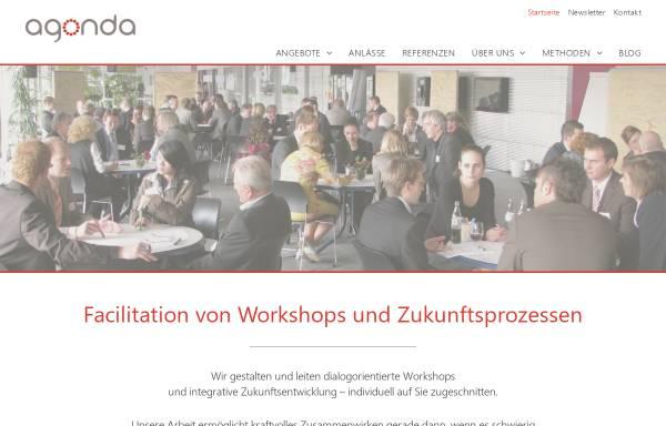 Vorschau von www.agonda.de, Agonda - Moderation, Facilitation, Coaching