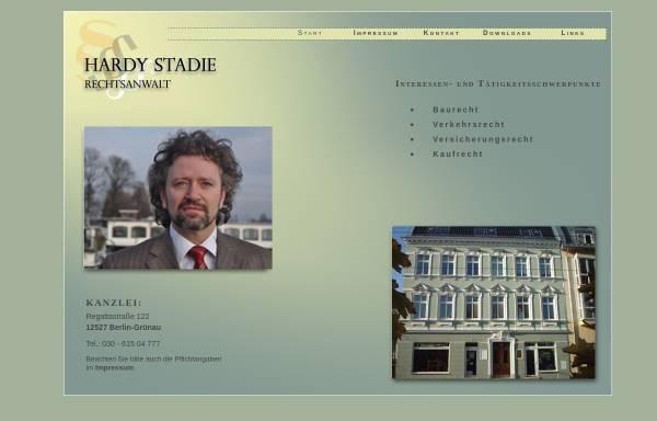 Vorschau von www.rechtsanwalt-stadie.de, Rechtsanwalt Hardie Stadie
