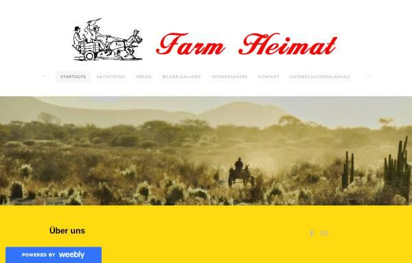 Vorschau von www.farm-heimat.com, Farm Heimat