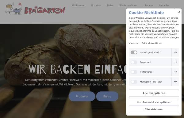 Vorschau von www.brotgarten.de, Brotgarten Charlottenburg
