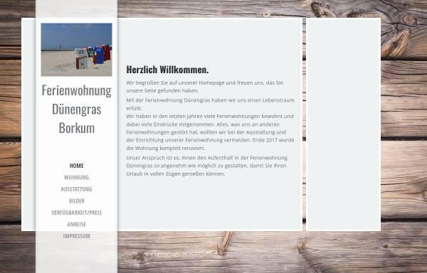 Vorschau von www.ferien-auf-borkum.net, Haus Dukegat