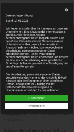 Vorschau der mobilen Webseite www.borkumer.com, Ferienwohnung Borkum