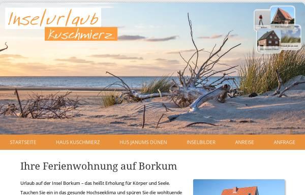 Vorschau von www.kkuschmierz.de, Ferienwohnungen Kuschmierz