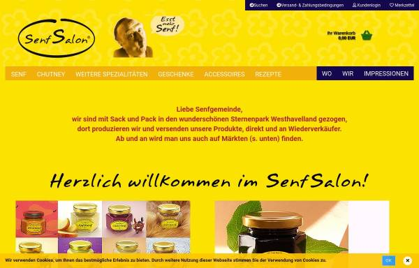 Vorschau von www.senfsalon.de, Senfsalon