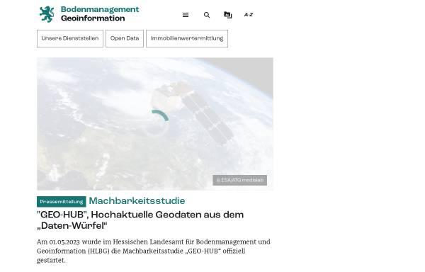 Vorschau von www.hvbg.hessen.de, Amt für Bodenmanagement Marburg