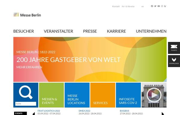 Vorschau von www.icc-berlin.de, ICC - Internationales Congresscentrum Berlin
