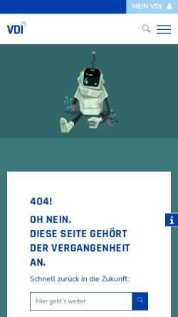 Vorschau der mobilen Webseite www.suj-berlin.de, VDI Studenten und Jungingenieuren in Berlin