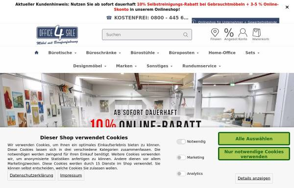 office-4-sale Büromöbel GmbH in Mühlenbeck: Gebrauchte, Möbel office ...
