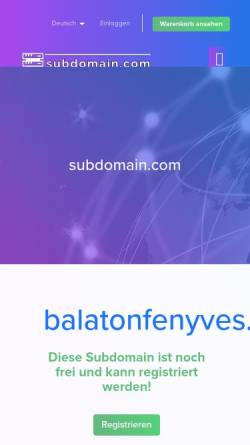 Vorschau der mobilen Webseite www.balatonfenyves.kilu.de, Ferienhaus in Balatonfenyves