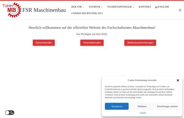 Vorschau von mb-tuhh.de, Fachschaftsrat Maschinenbau (FSR-MB)
