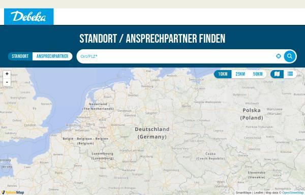 Vorschau von www.debeka.de, Versicherungen - Bezirksleiter Rolf-Jürgen Schliebe