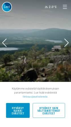 Vorschau der mobilen Webseite www.levi.fi, Levi