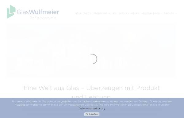 Vorschau von www.glas-wulfmeier.de, Glas Wulfmeier GmbH