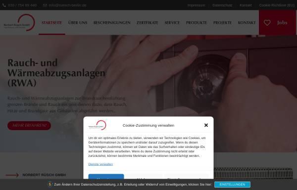 Vorschau von www.ruesch-berlin.de, Norbert Ruesch GmbH