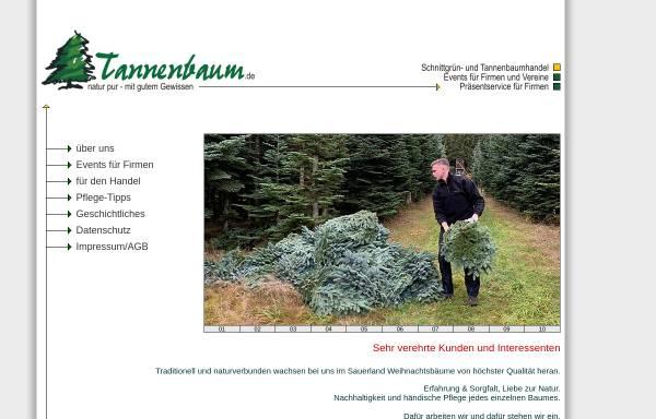 Vorschau von www.tannenbaum.de, Tannenbaum.de - Rolf Betzinger