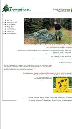 Vorschau der mobilen Webseite www.tannenbaum.de, Tannenbaum.de - Rolf Betzinger